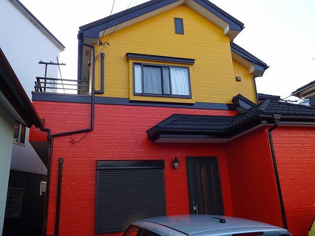 【施工実績2】外壁塗装・屋根葺き替え:埼玉県さいたま市西区