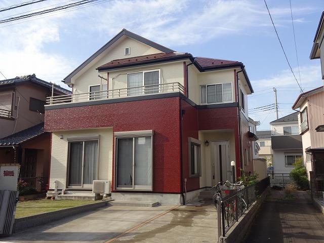 【施工実績6】外壁塗装・屋根塗装:埼玉県川越市