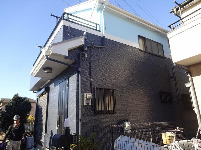 【施工実績14】外壁塗装・屋根塗装:埼玉県桶川市