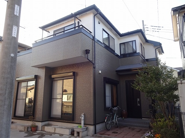 【施工実績28】外壁塗装・屋根塗装:埼玉県松伏町