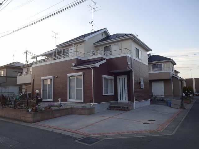 【施工実績27】外壁塗装・屋根塗装:埼玉県羽生市