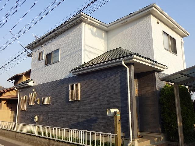 【施工実績30】外壁塗装・屋根塗装:群馬県高崎市