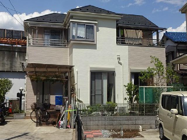 【施工実績29】外壁塗装・屋根重ね葺き:埼玉県川口市