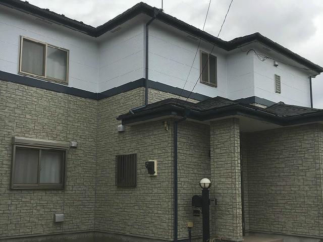 【施工実績25】外壁塗装・屋根重ね葺き:埼玉県さいたま市岩槻区