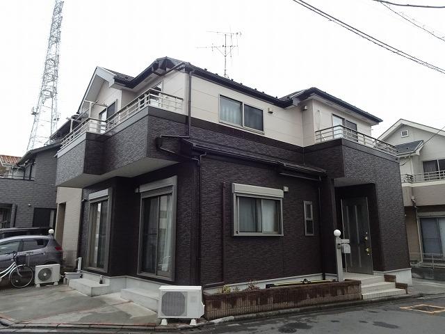 【施工実績31】外壁塗装・屋根重ね葺き:埼玉県八潮市