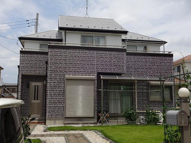 【施工実績37】外壁塗装・屋根塗装:埼玉県幸手市
