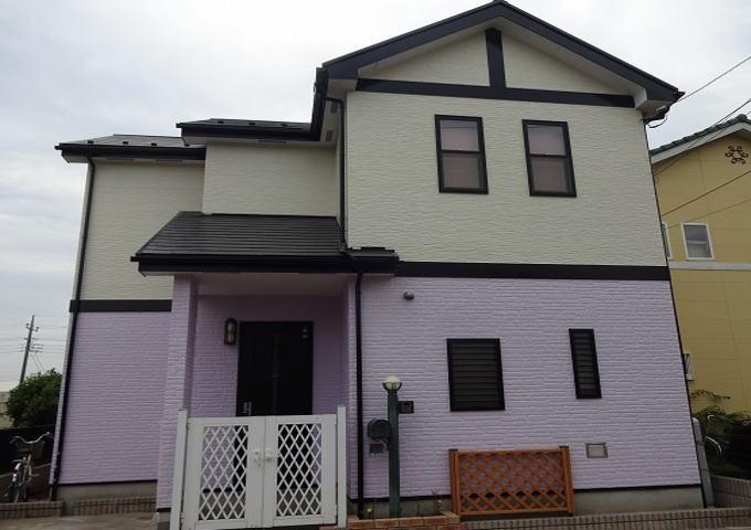 【施工実績38】外壁塗装・屋根重ね葺き:埼玉県加須市