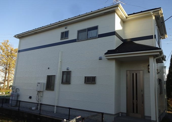【施工実績39】外壁塗装・屋根重ね葺き:埼玉県幸手市