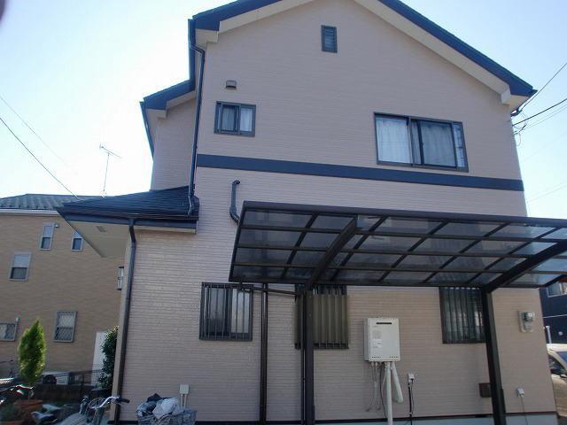 【施工実績40】外壁塗装・屋根重ね葺き:埼玉県川口市