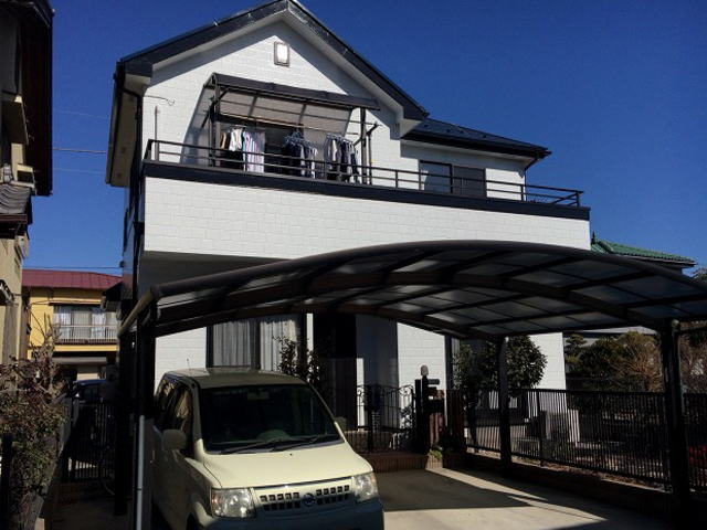 【施工実績93】外壁塗装・屋根塗装:埼玉県熊谷市