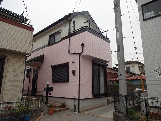 【施工実績59】外壁塗装・屋根塗装:埼玉県上尾市