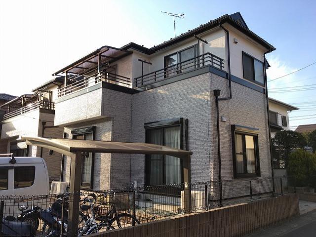 【施工実績88】外壁塗装・屋根重ね葺き工事:埼玉県草加市