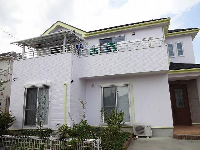 【施工実績45】外壁塗装・屋根重ね葺き工事:群馬県高崎市