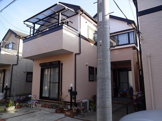 【施工実績47】外壁塗装・屋根塗装:埼玉県越谷市