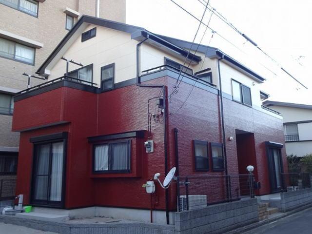 【施工実績50】外壁塗装・屋根重ね葺き:埼玉県春日部市