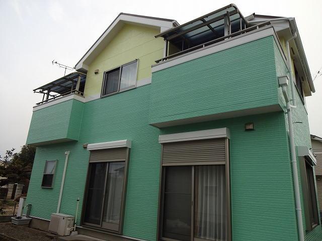 【施工実績104】外壁・屋根塗装:群馬県高崎市