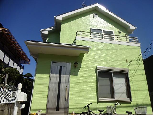 【施工実績105】外壁・屋根塗装:埼玉県所沢市