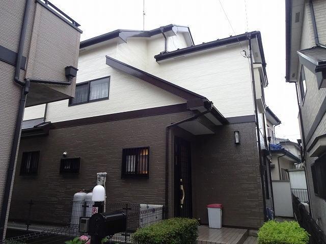 【施工実績142】外壁塗装・屋根塗装:埼玉県鶴ヶ島市