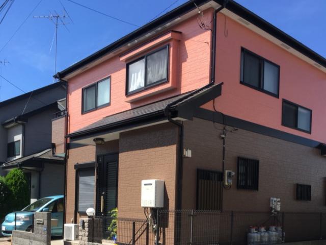 【施工実績156】外壁塗装・屋根塗装:埼玉県和光市