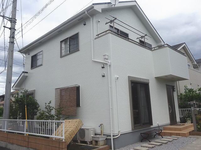 【施工実績151】外壁塗装・屋根塗装:群馬県高崎市