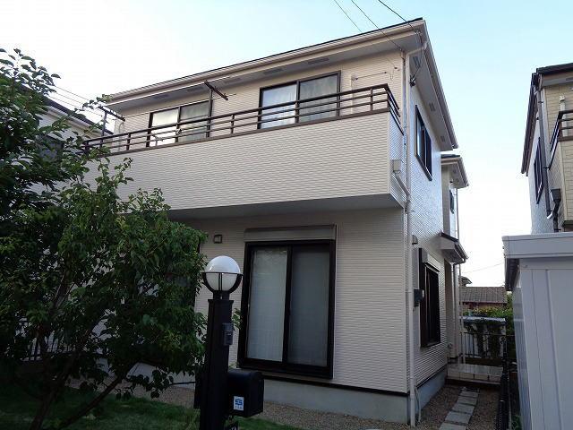 【施工実績154】外壁塗装・屋根重ね葺き:埼玉県久喜市