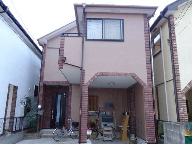 【施工実績160】外壁塗装・屋根塗装:埼玉県草加市