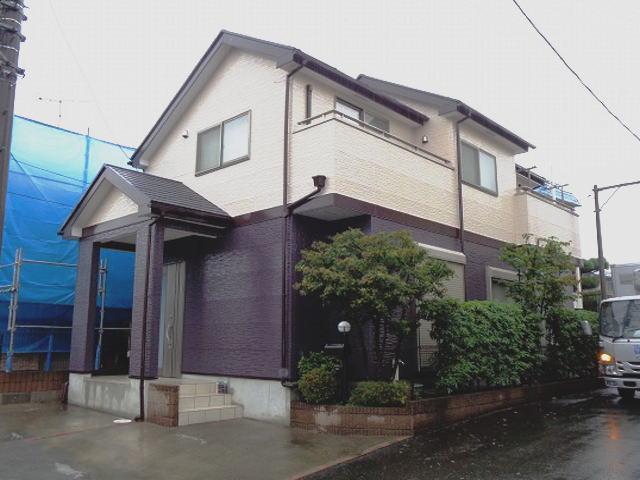 【施工実績163】外壁塗装・屋根塗装:埼玉県所沢市