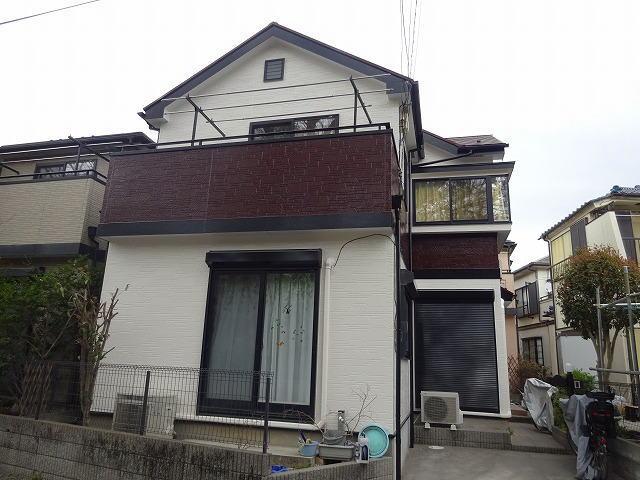 【施工実績222】外壁塗装・屋根塗装:埼玉県所沢市