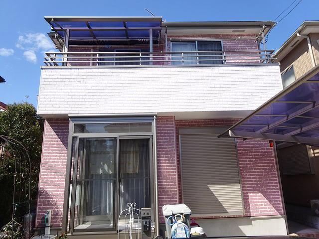 【施工実績225】外壁塗装・屋根塗装:埼玉県草加市
