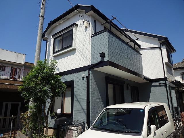 【施工実績289】外壁塗装・屋根塗装:埼玉県川越市