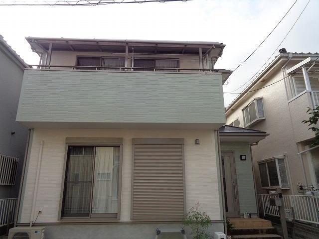【施工実績290】外壁塗装・屋根塗装:埼玉県川口市