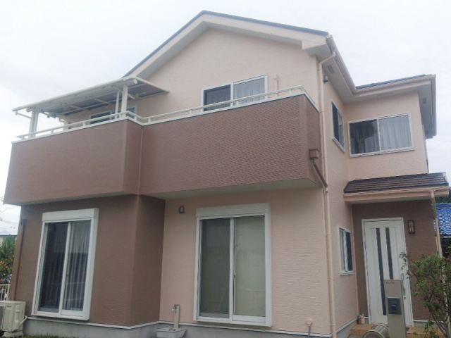 【施工実績305】外壁塗装・屋根塗装:群馬県高崎市