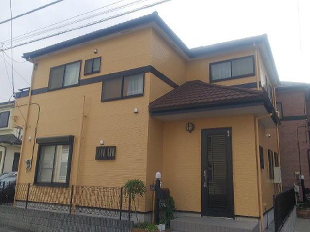 【施工実績315】外壁塗装・屋根重ね葺き:埼玉県春日部市