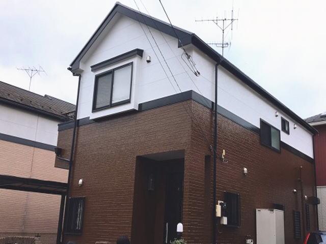 【施工実績321】外壁塗装・屋根塗装:埼玉県所沢市