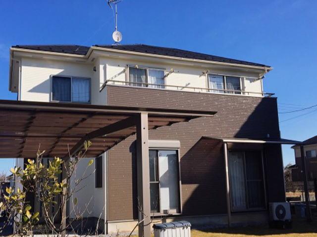 【施工実績341】外壁塗装・屋根塗装:埼玉県幸手市