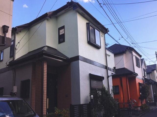 【施工実績346】外壁塗装・屋根塗装:埼玉県新座市