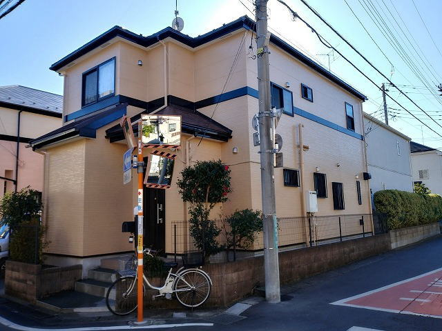 【施工実績353】外壁塗装・屋根重ね葺き:埼玉県所沢市