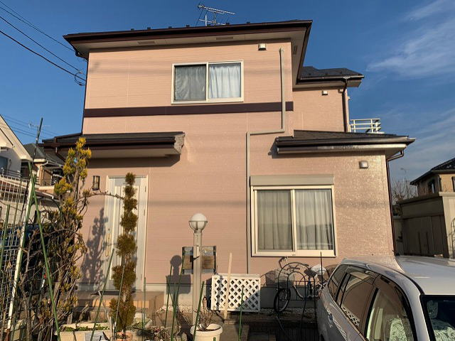 【施工実績354】外壁塗装・屋根塗装:埼玉県川越市