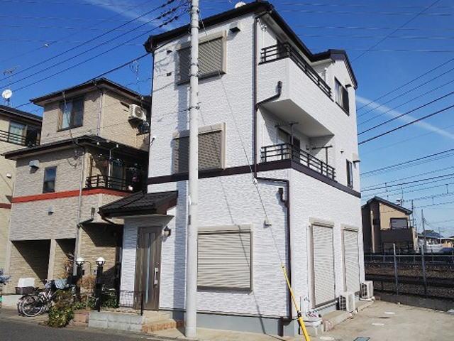 【施工実績355】外壁塗装・屋根重ね葺き:埼玉県さいたま市北区