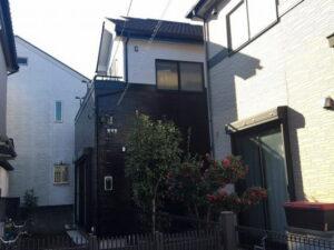 【施工実績357】外壁塗装・屋根重ね葺き:埼玉県越谷市