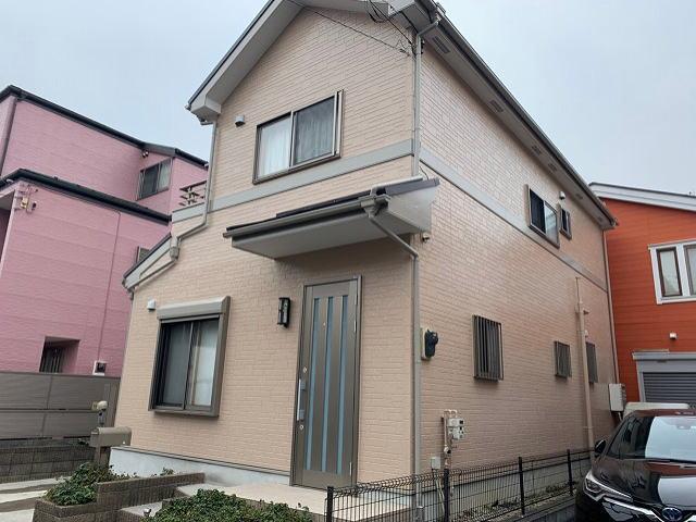 【施工実績362】外壁塗装・屋根重ね葺き:埼玉県春日部市