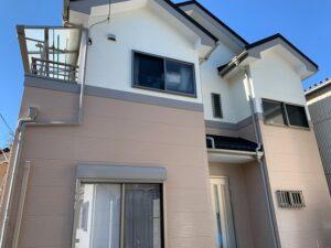 【施工実績365】外壁塗装・屋根重ね葺き:埼玉県三郷市