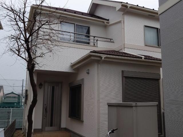 【施工実績368】外壁塗装・屋根塗装:埼玉県ふじみ野市