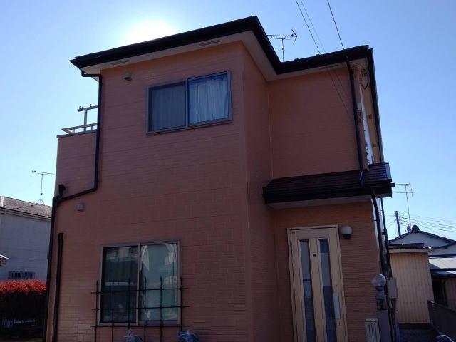 【施工実績374】外壁塗装・屋根塗装:埼玉県羽生市