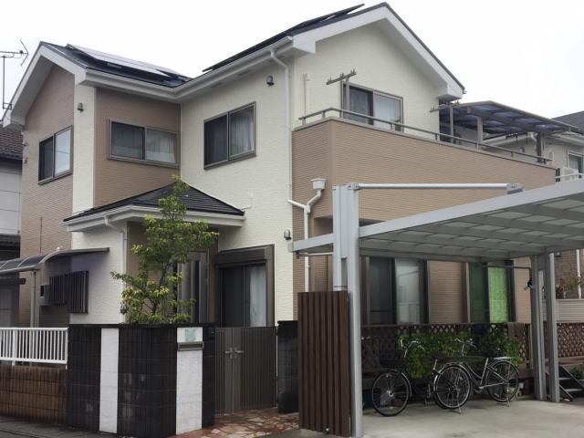 【施工実績379】外壁塗装・屋根塗装:群馬県前橋市