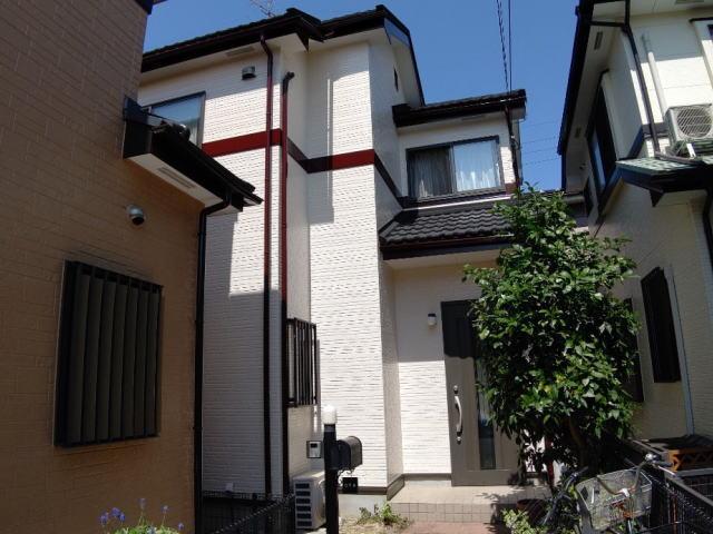【施工実績380】外壁塗装・屋根重ね葺き:埼玉県さいたま市