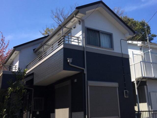 【施工実績381】外壁塗装・屋根重ね葺き:埼玉県さいたま市