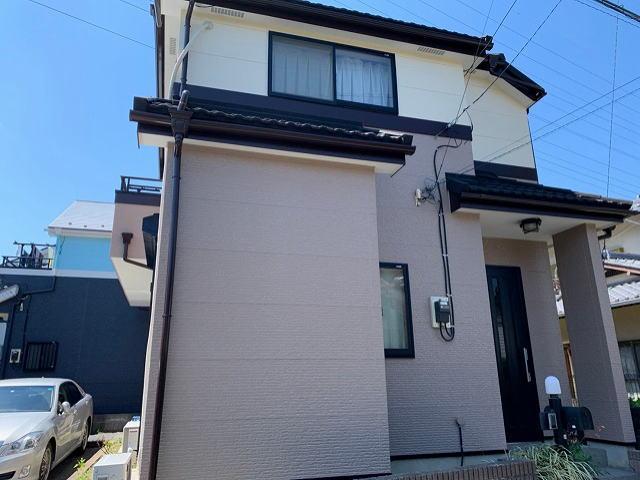 【施工実績382】外壁塗装・屋根重ね葺き:埼玉県桶川市