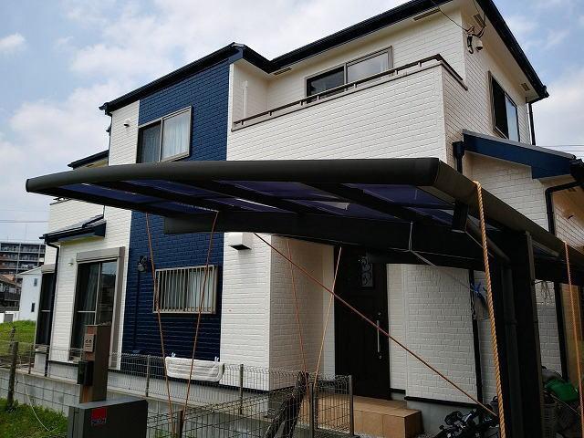 【施工実績389】外壁塗装・屋根塗装:埼玉県越谷市