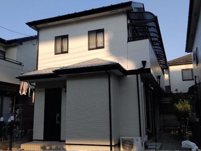 【施工実績391】外壁塗装・屋根塗装:埼玉県上尾市